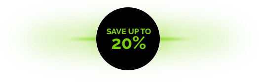saveupto20percent